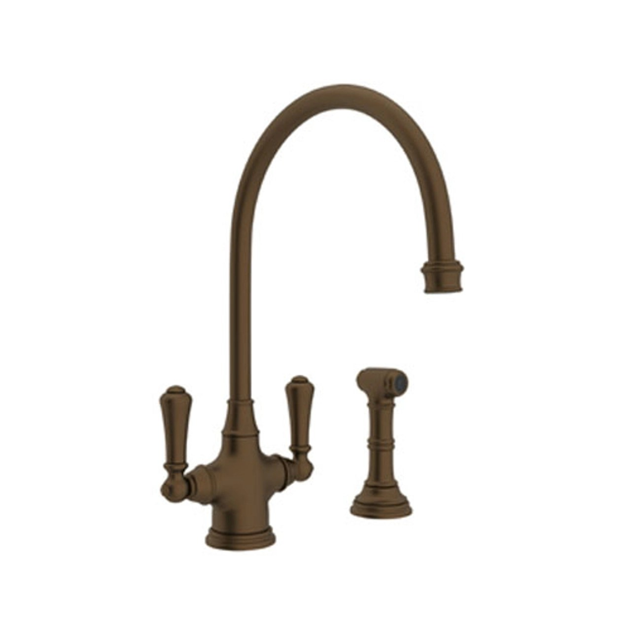 rohl u 4710eb 2 perrin and rowe kitchen faucet