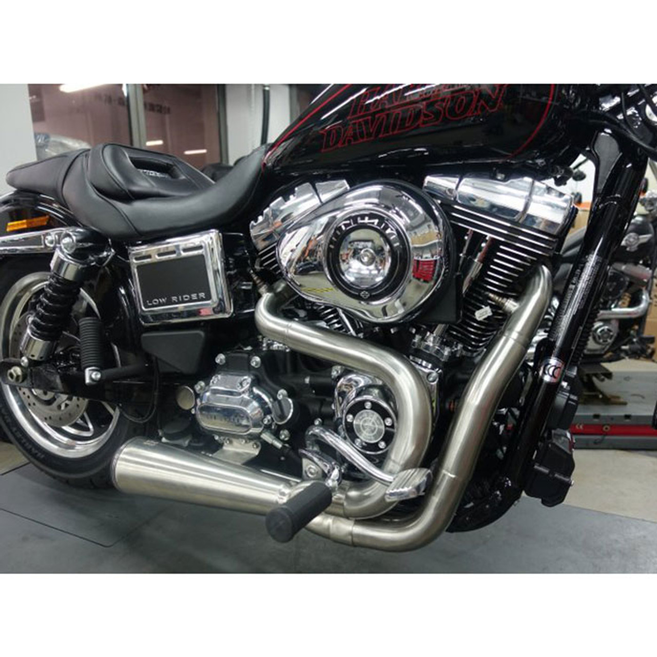 dyna 2 into 1 exhaust stainless