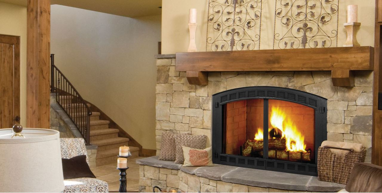 Majestic Biltmore 50 Radiant Wood Burning Fireplace Embers Fireplaces Outdoor Living