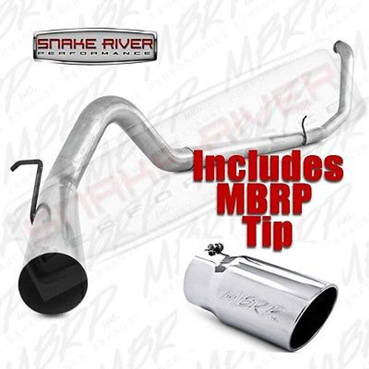 mbrp 4 exhaust 99 03 ford powerstroke diesel 7 3l w stainless tip s6200plm t5051