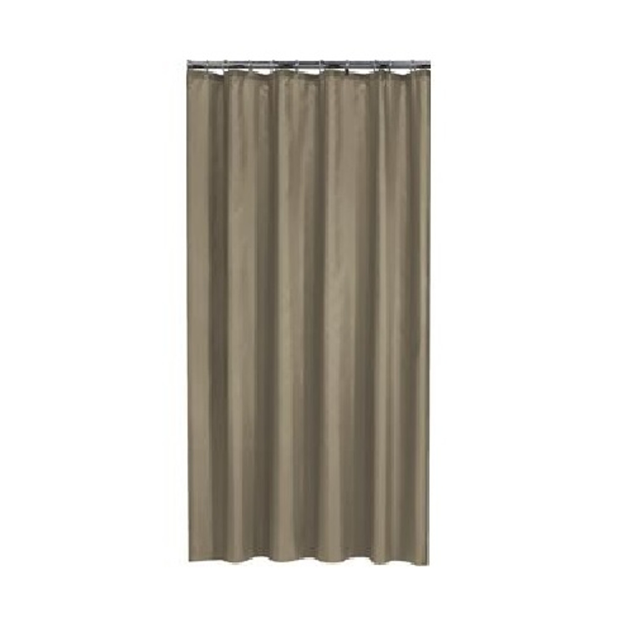 extra long shower curtain 72 x 78 inch gamma walnut brown fabric