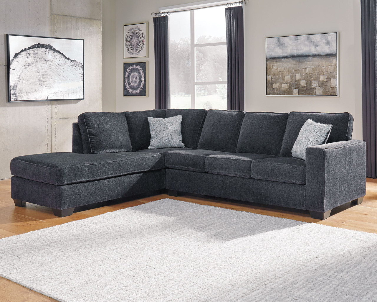 altari slate laf corner chaise raf sofa couch sectional