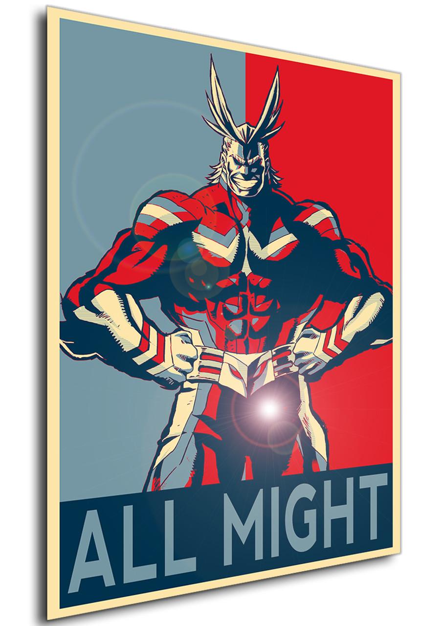 poster propaganda my hero academia
