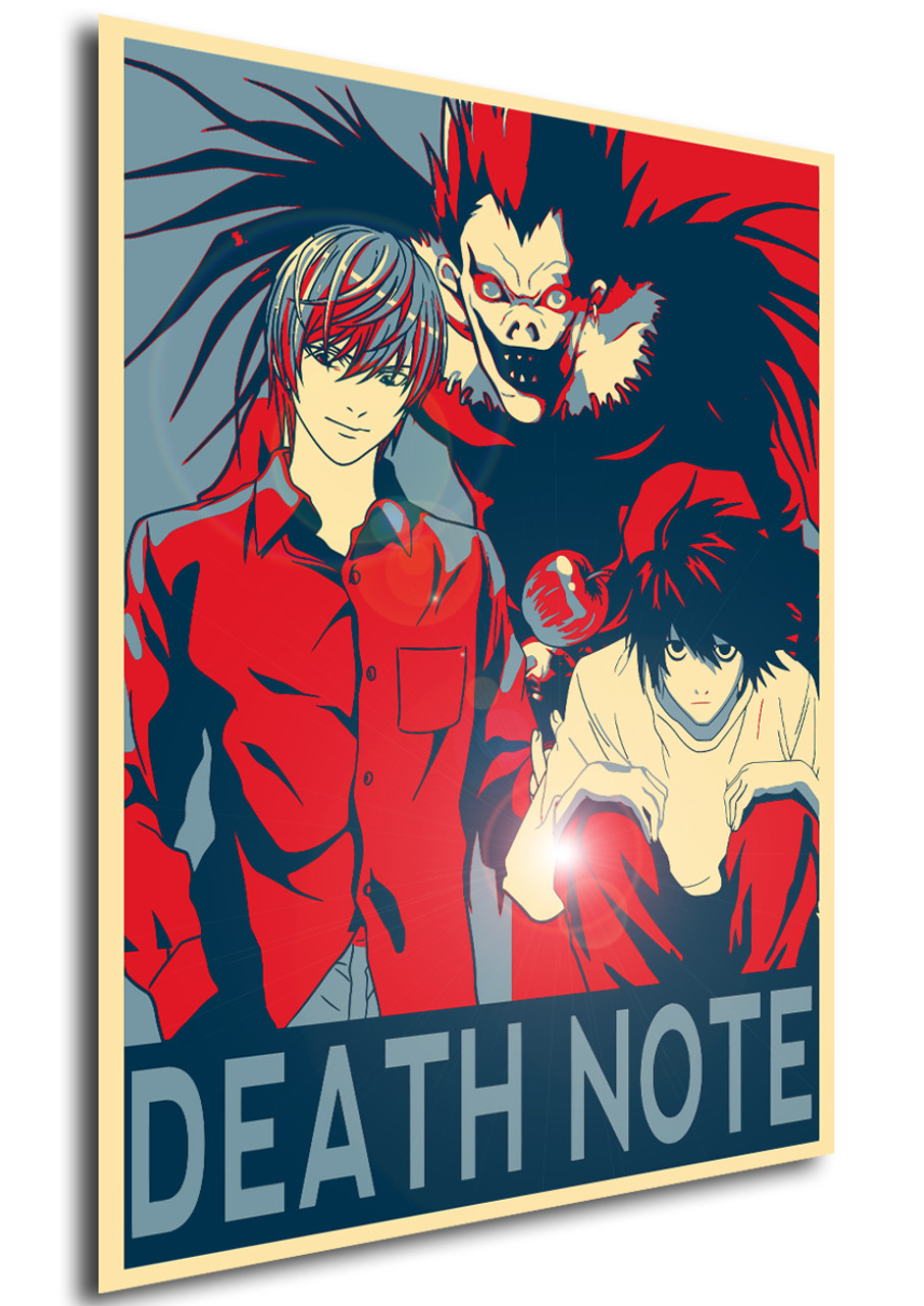 poster propaganda death note characters