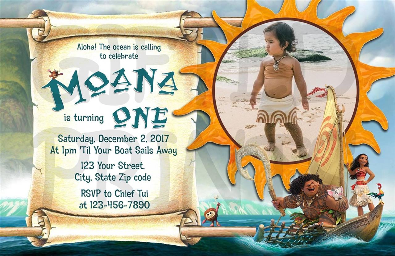 moana birthday invitation 1
