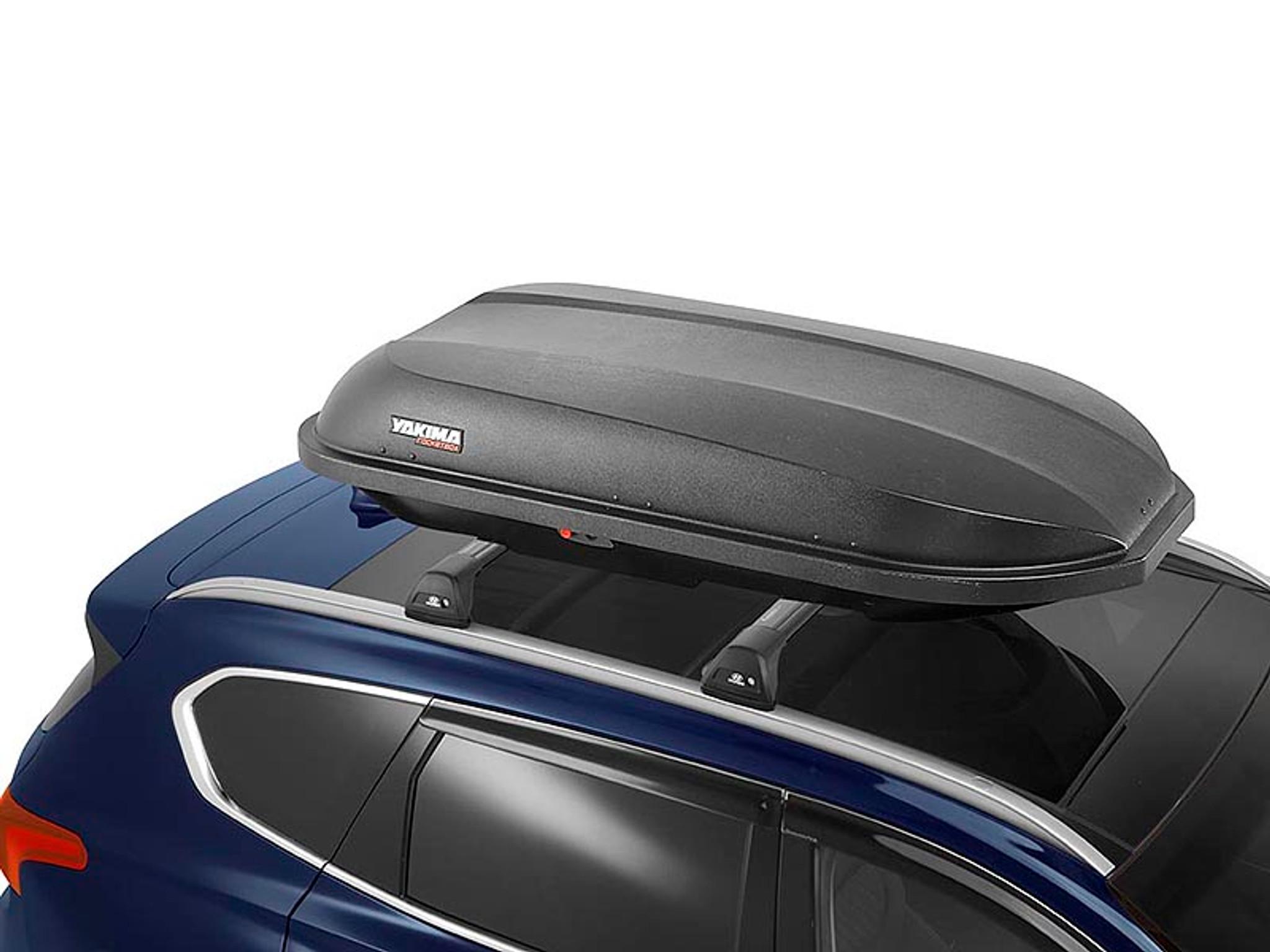 genuine hyundai kona 2 0 2017 on roof rack luggage pod part no hyal10099014 129021