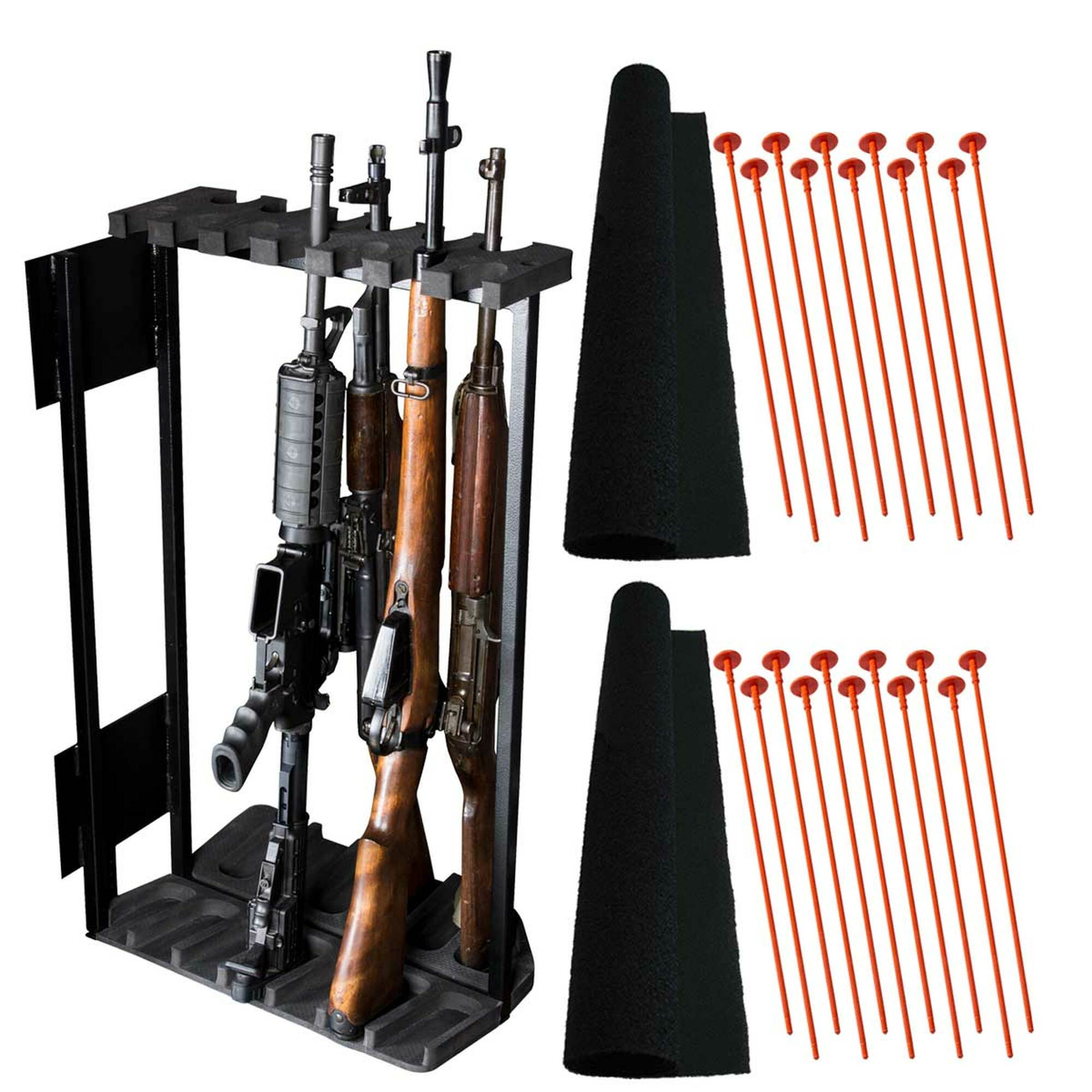 https rhinosafe com swing out gun rack system 13 gun sor13