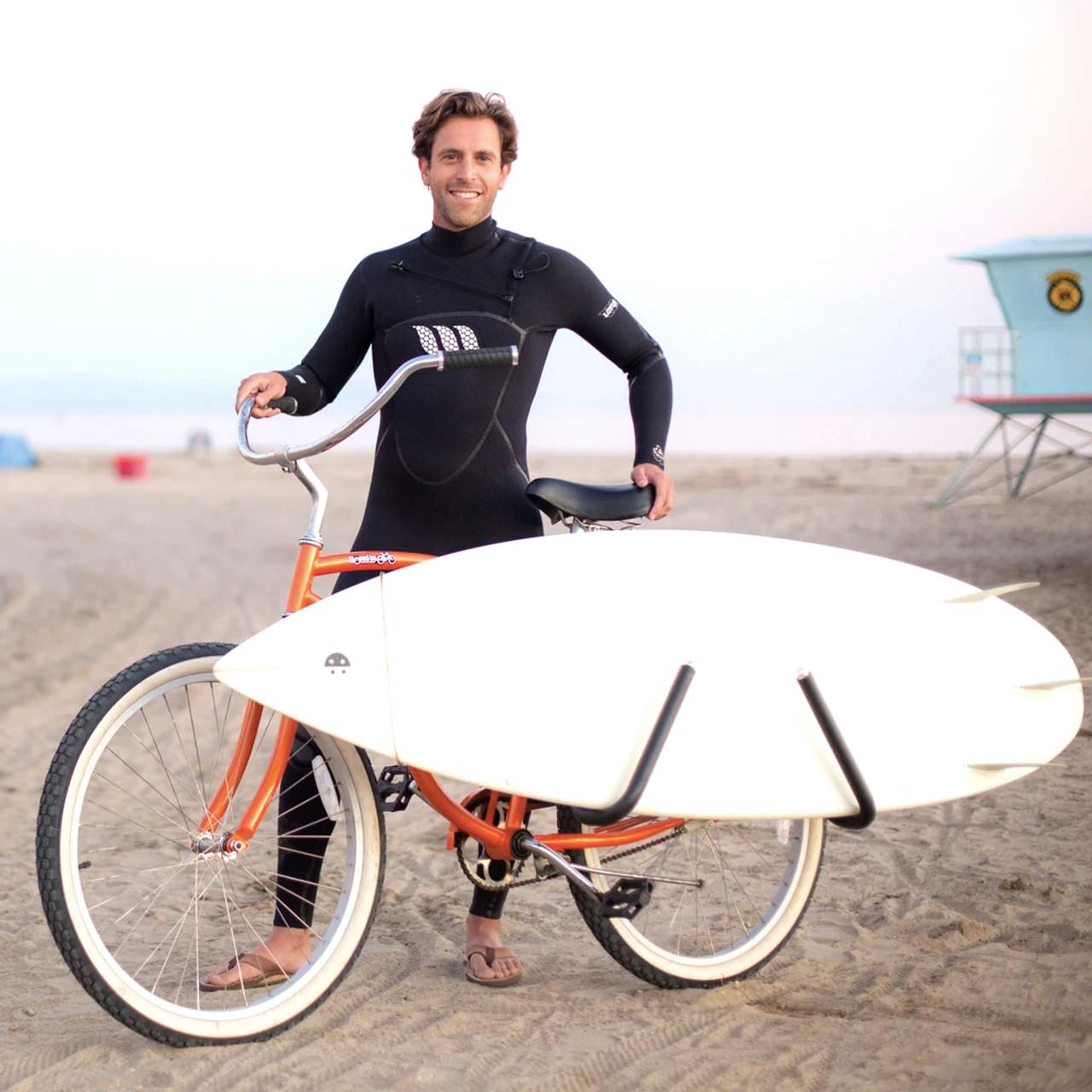 removable surf bike rack shortboard