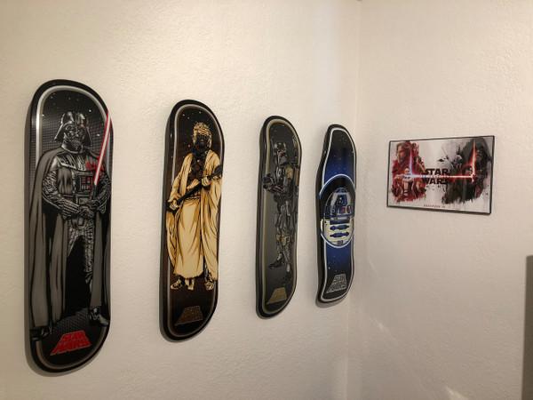 https www storeyourboard com skateboard deck display floating mount