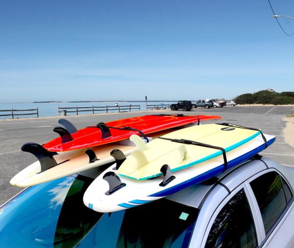 surfboard universal car rack double board soft rack