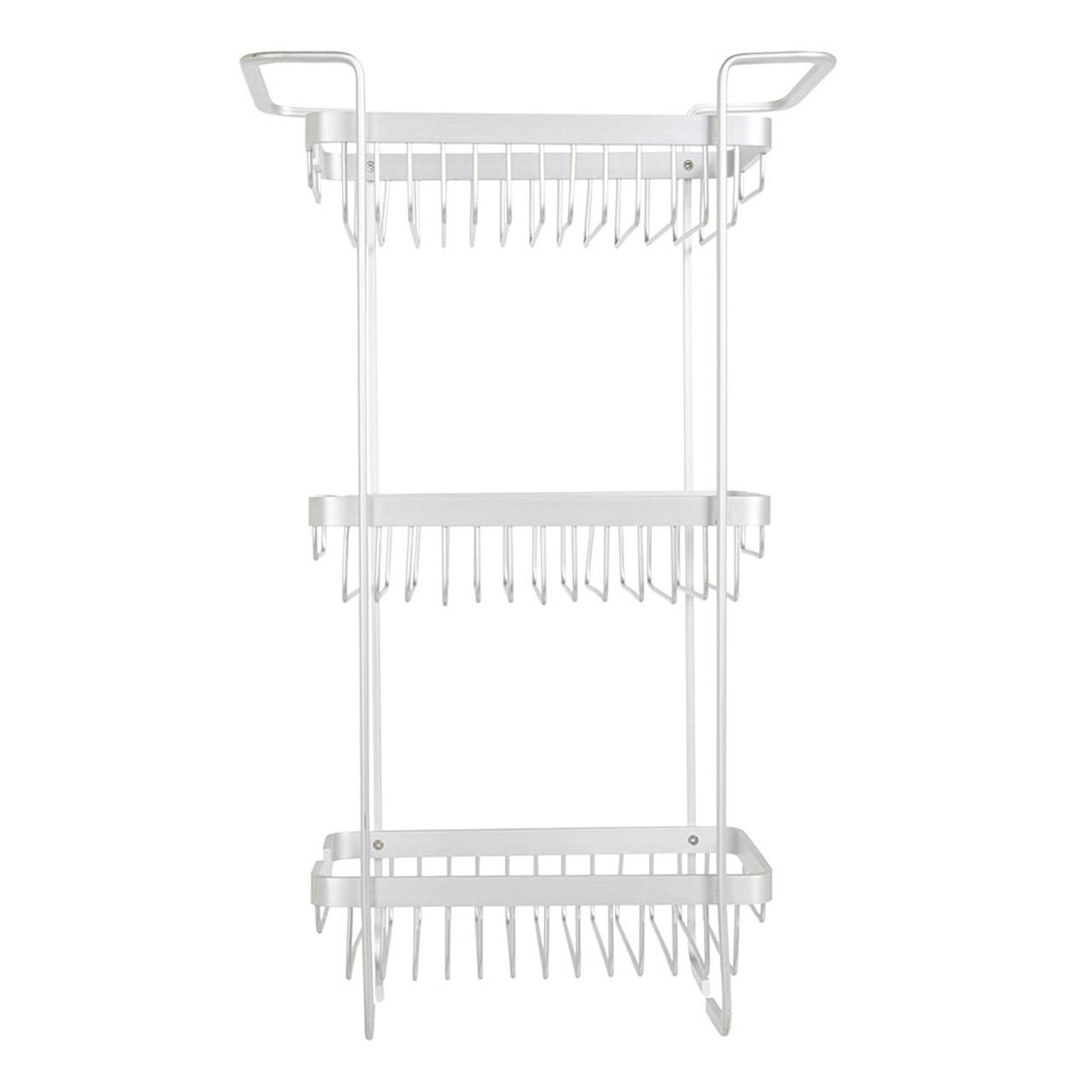aluminium bathroom rack 3 tier