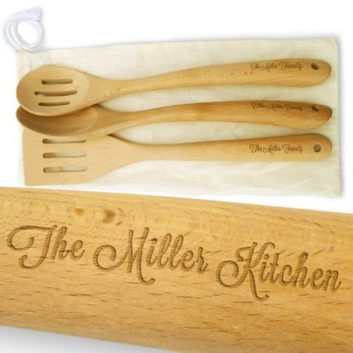 Personalised kitchen spoons