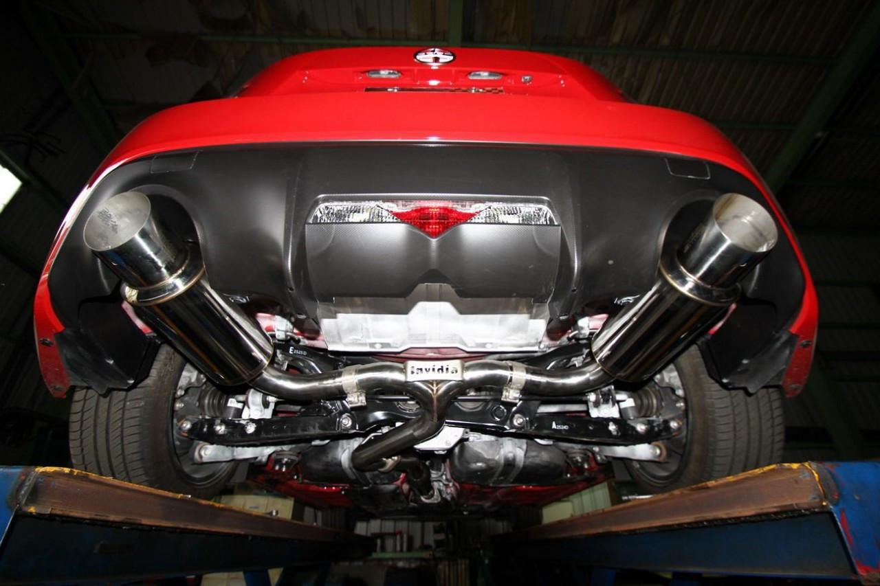 invidia n1 cat back exhaust system scion fr s subaru brz