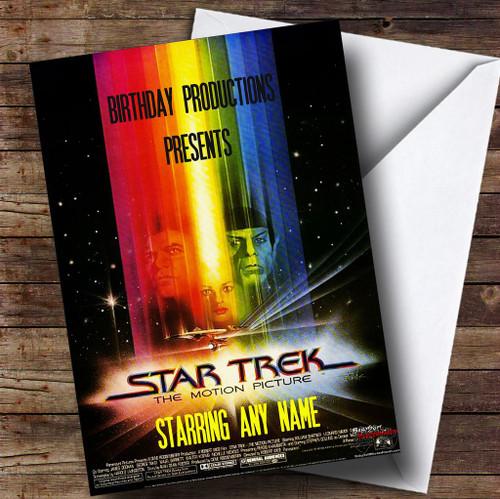 Star Trek Personalised Birthday Card Handmade Products Stationery Tennesseegreenac Com