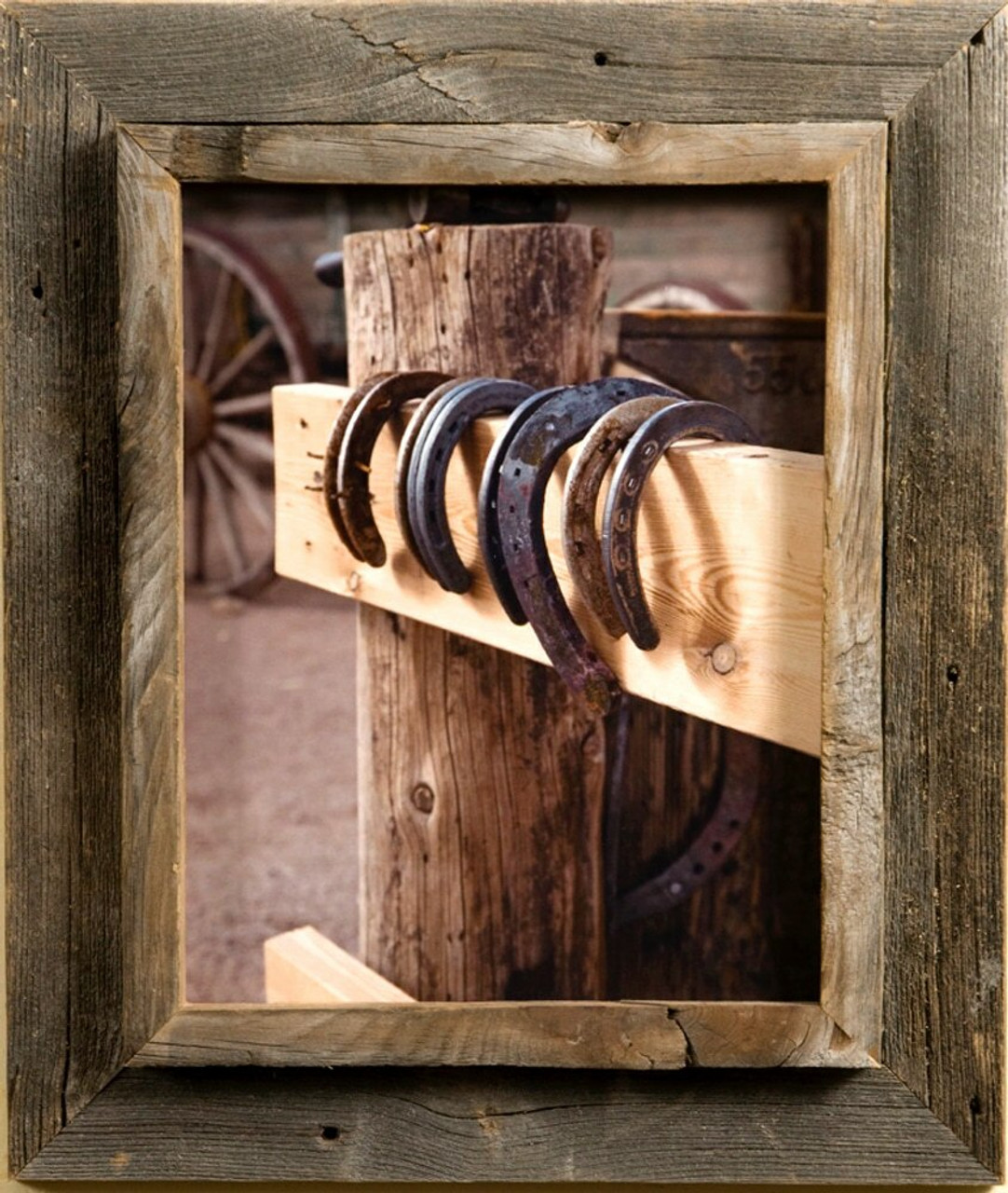 16x24 western picture frame western rustic narrow width 2 25 inch