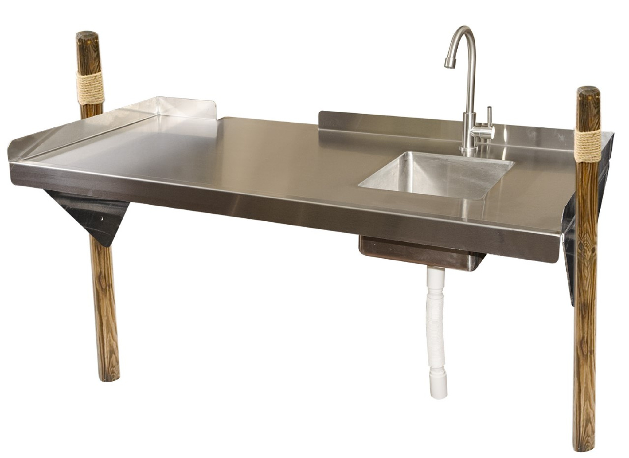 rite hite stainless steel fillet cleaning table