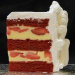 Strawberry Red Velvet Lisas Rum Cake