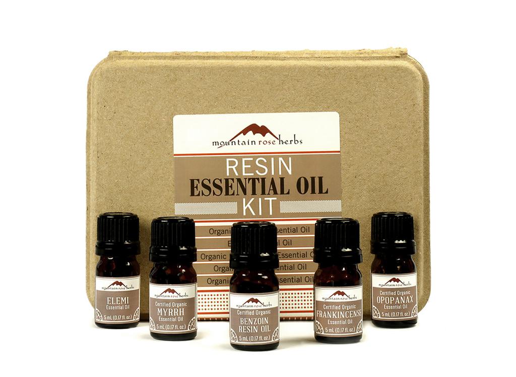 Resins Organic Essential Oil Kit
