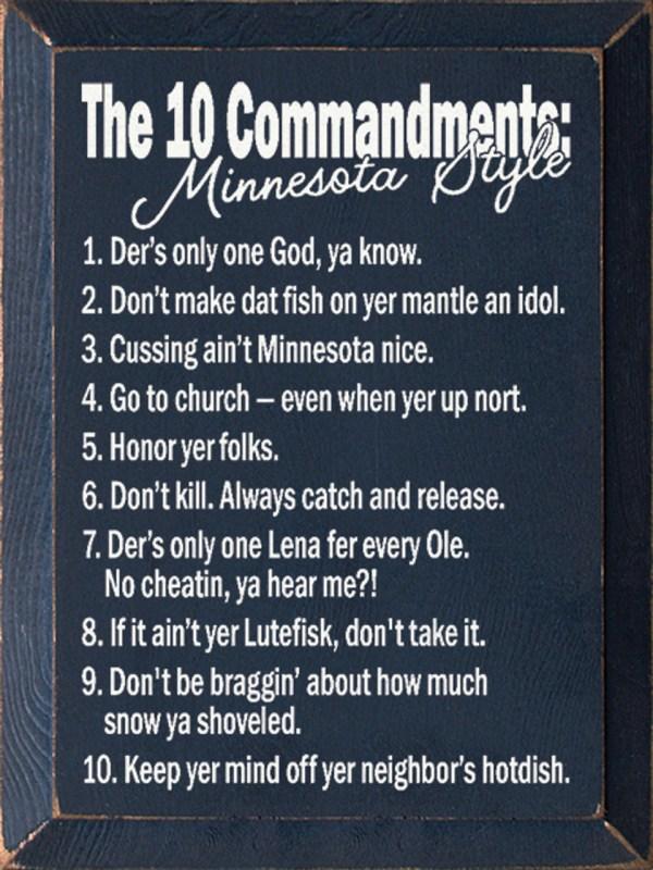 10 commandments of god # 3
