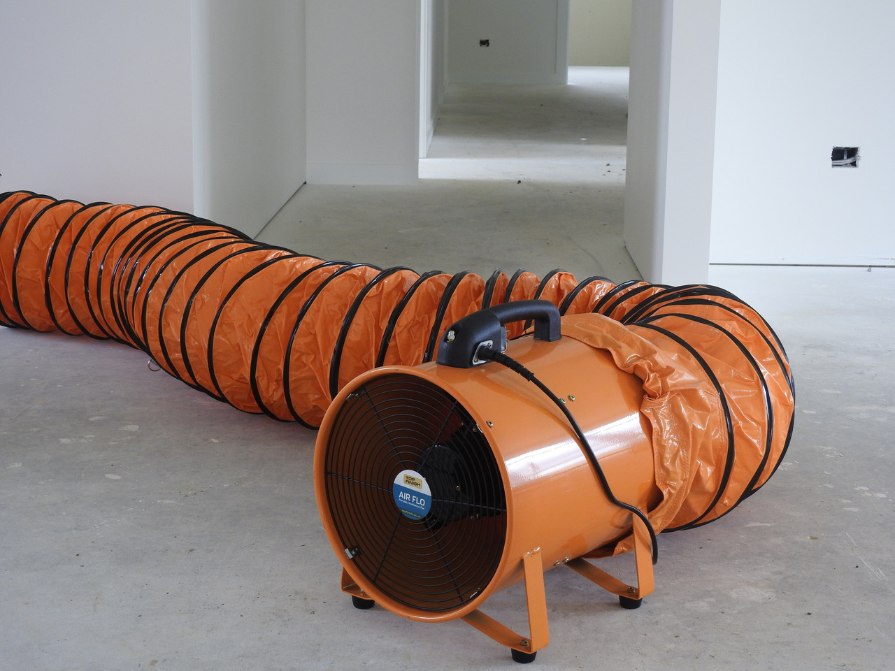 300mm portable dual function ventilation fan blows and extracts