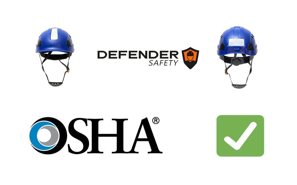 What Is An Osha Approved Safety Helmet Or Hard Hat Defender Safety