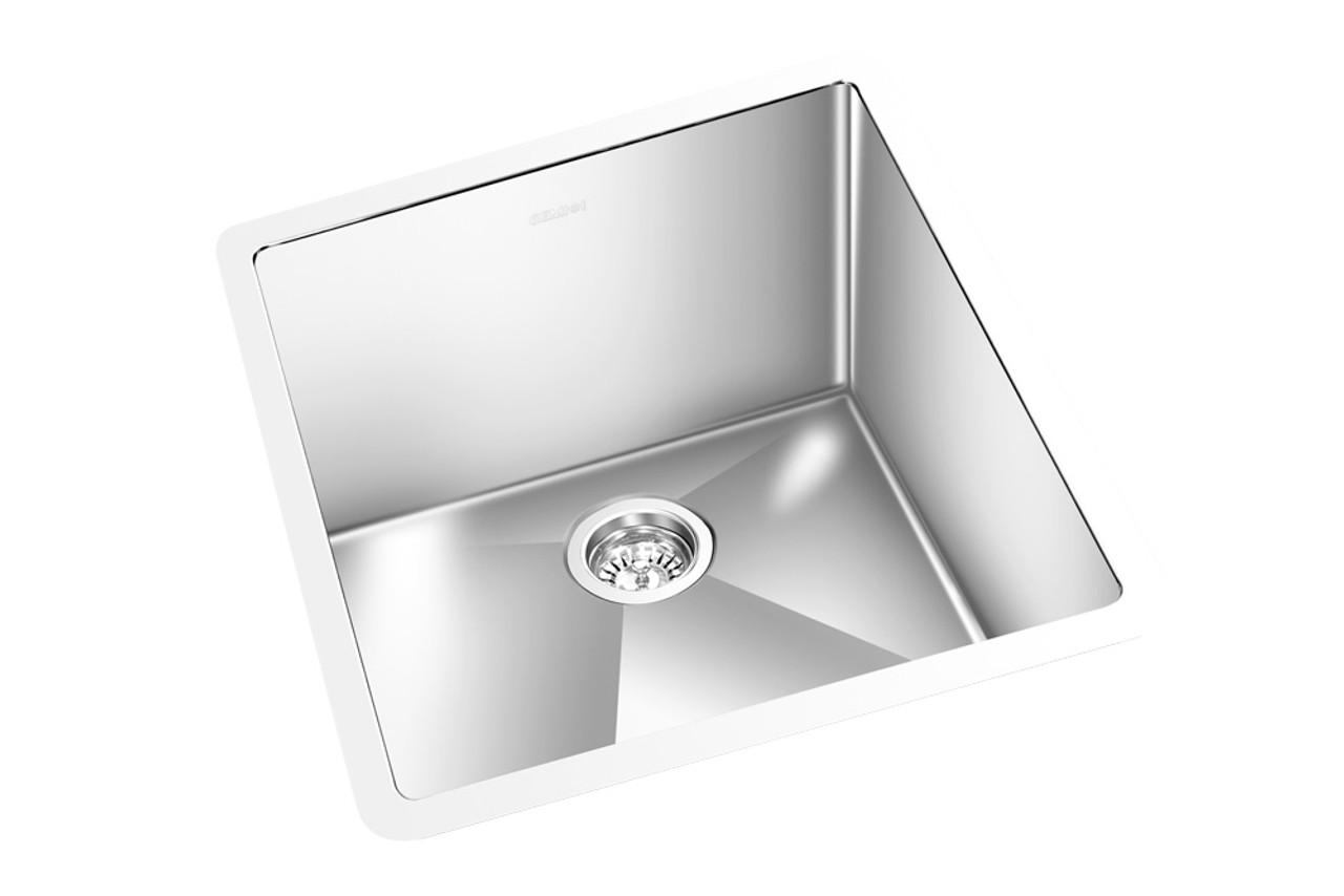 gem kitchen round corner sink undermount 17 x 18