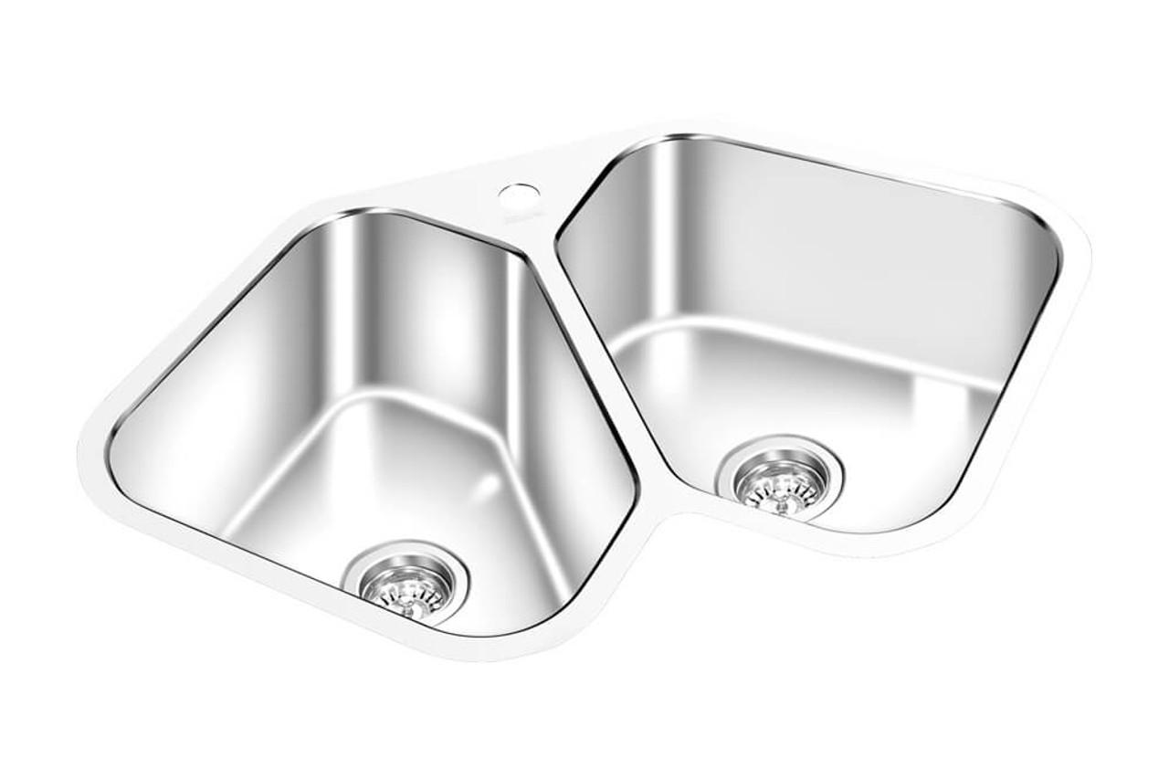 gem corner kitchen sink 27 x 27