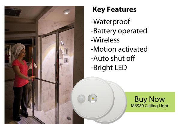 bright wireless shower lights the best