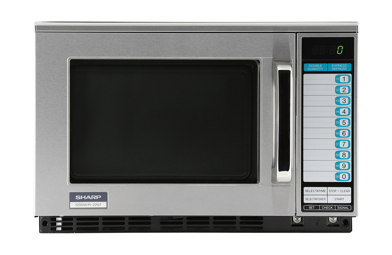 heavy duty commercial microwave oven with 1200 watts r22gtf
