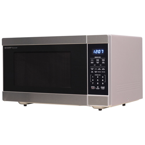 1 6 cu ft 1100w stainless steel countertop microwave oven smc1662ds