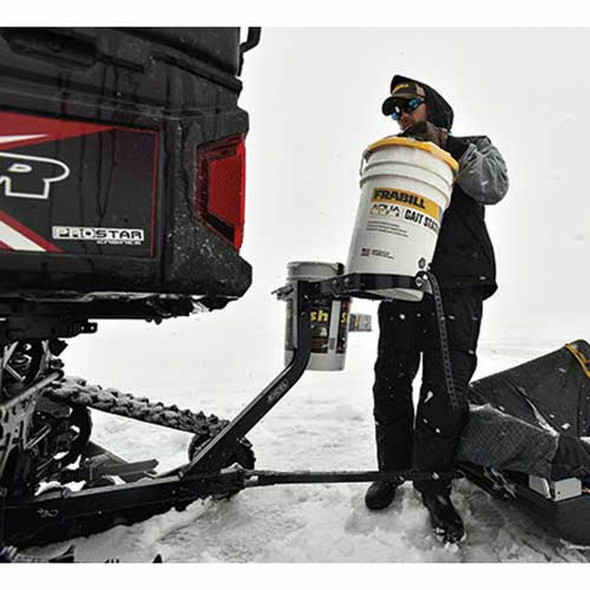https weedersdigest com snowmobile ice auger carrier mount jaws of ice auger holder