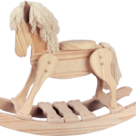 Wooden Rocking Horse Do It Yourself Kit Wooden Rocking Horses