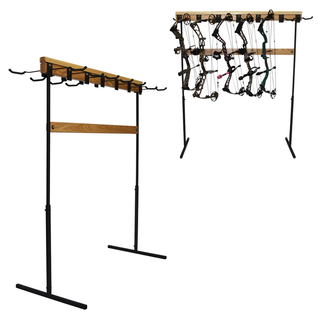 hardwood bow rack hd18 50