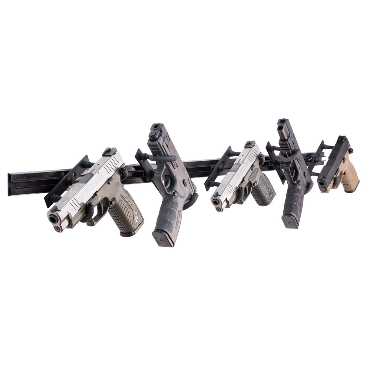5 handgun rack wall mount hdtk509