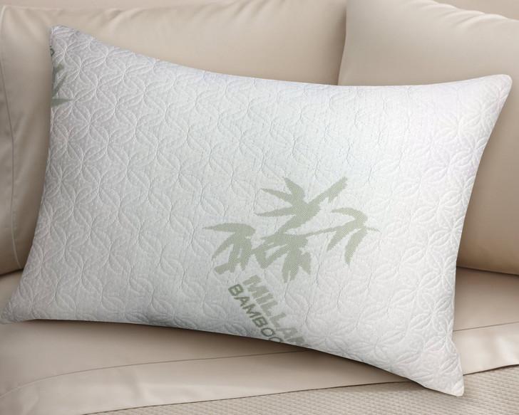 bamboo memory foam pillow by milano
