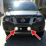 Nissan Pathfinder Lamp Brush Bar Auxiliary Offroad Driving Lights Trail Lamps Off Road Lighting Kit Blinglights Com