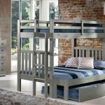 Cambridge Gray Twin Full Bunk Manteo Furniture Appliance
