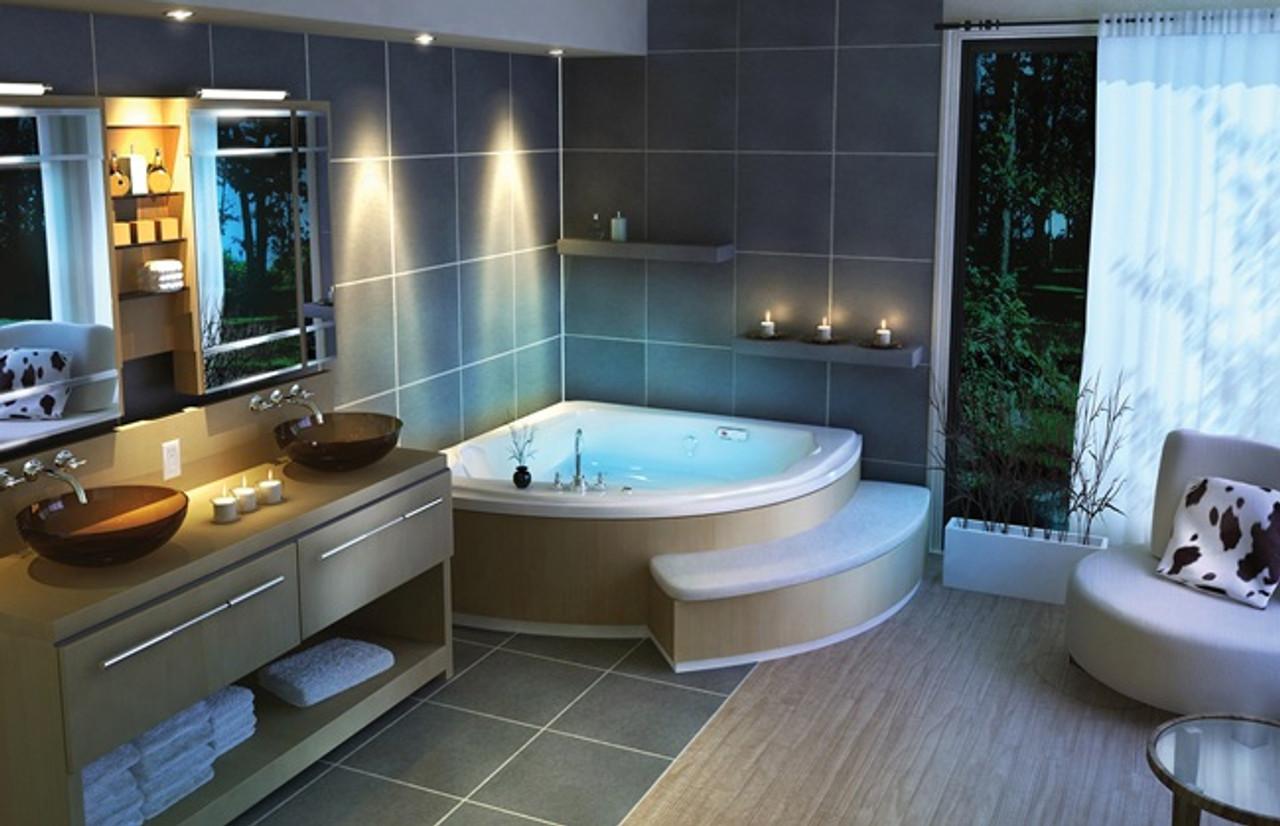 maax release corner tub jacuzzi whirlpool