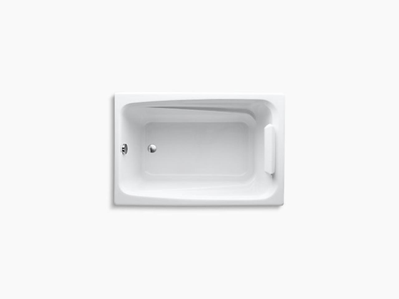 kohler k 1490 x 0 greek 4 foot bath white