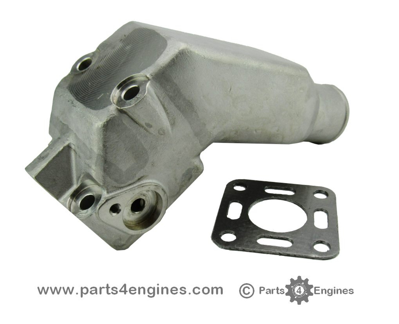 volvo penta 2003 stainless steel exhaust outlet elbow