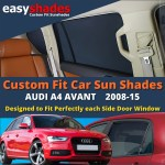 Audi A4 Avant Car Sun Shades 2008 15 At Easy Shades Window Blinds Baby Kids
