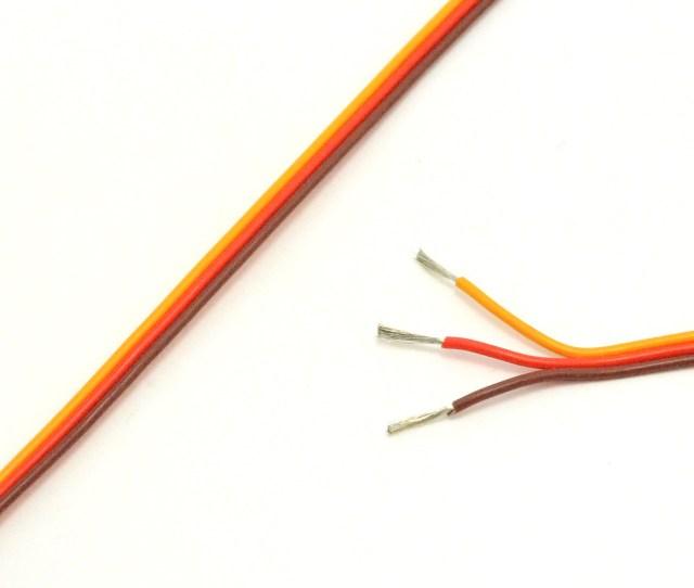 Jr Spektrum 22 Awg Servo Wire 100 Foot Spool