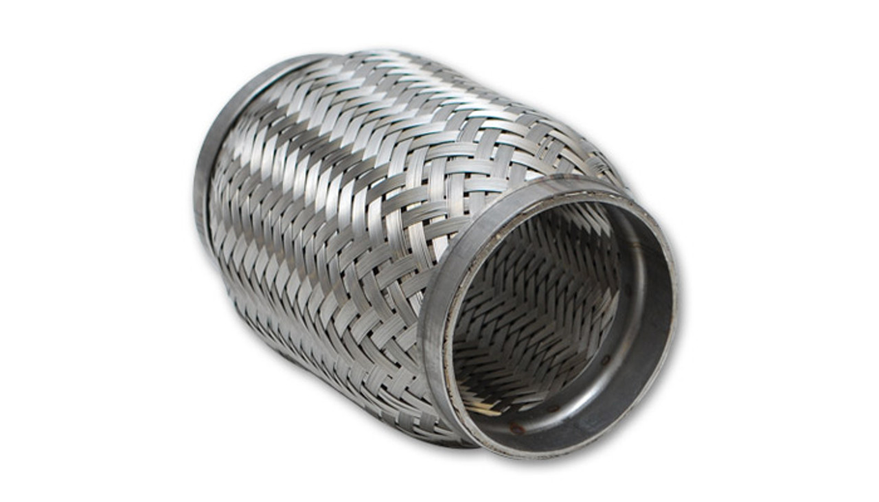 vibrant 63006 standard flexible exhaust pipe coupling 3 id x 6 length
