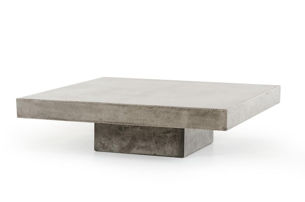 Modrest Morley Modern Concrete Coffee Table
