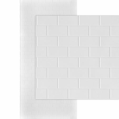 https www decorativeceilingtiles net subway tile mirroflex 4x8 4x10 glue up pvc wall panels pack