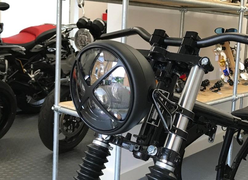 Motorbike Headlight Led 7 With X