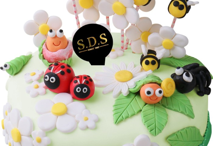 3d Fondant Cake Bees Sds Bakery Cafe