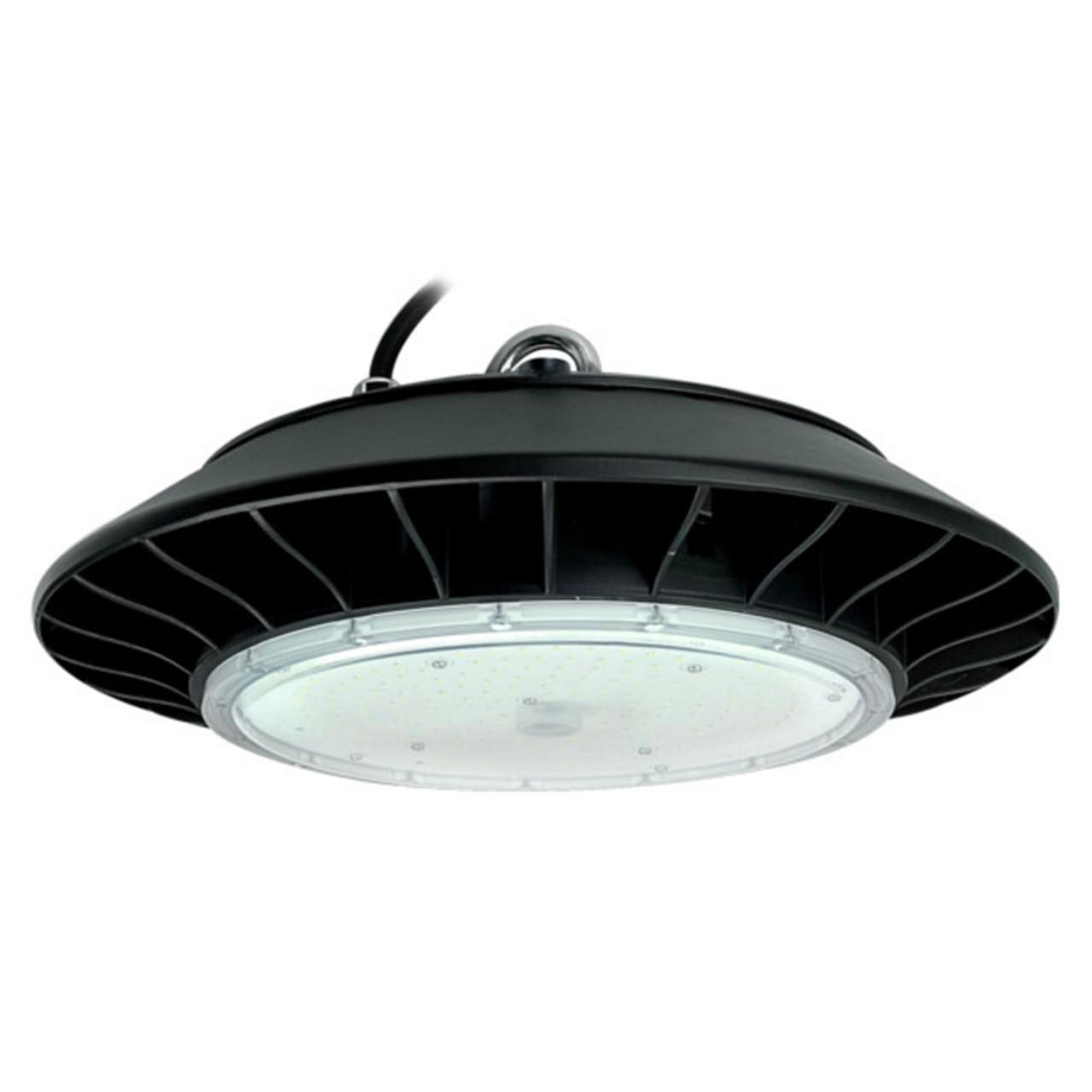150 watt ufo led commercial high bay lighting fixture replaces 400 watt hid 17 250 lumens 10 year warranty