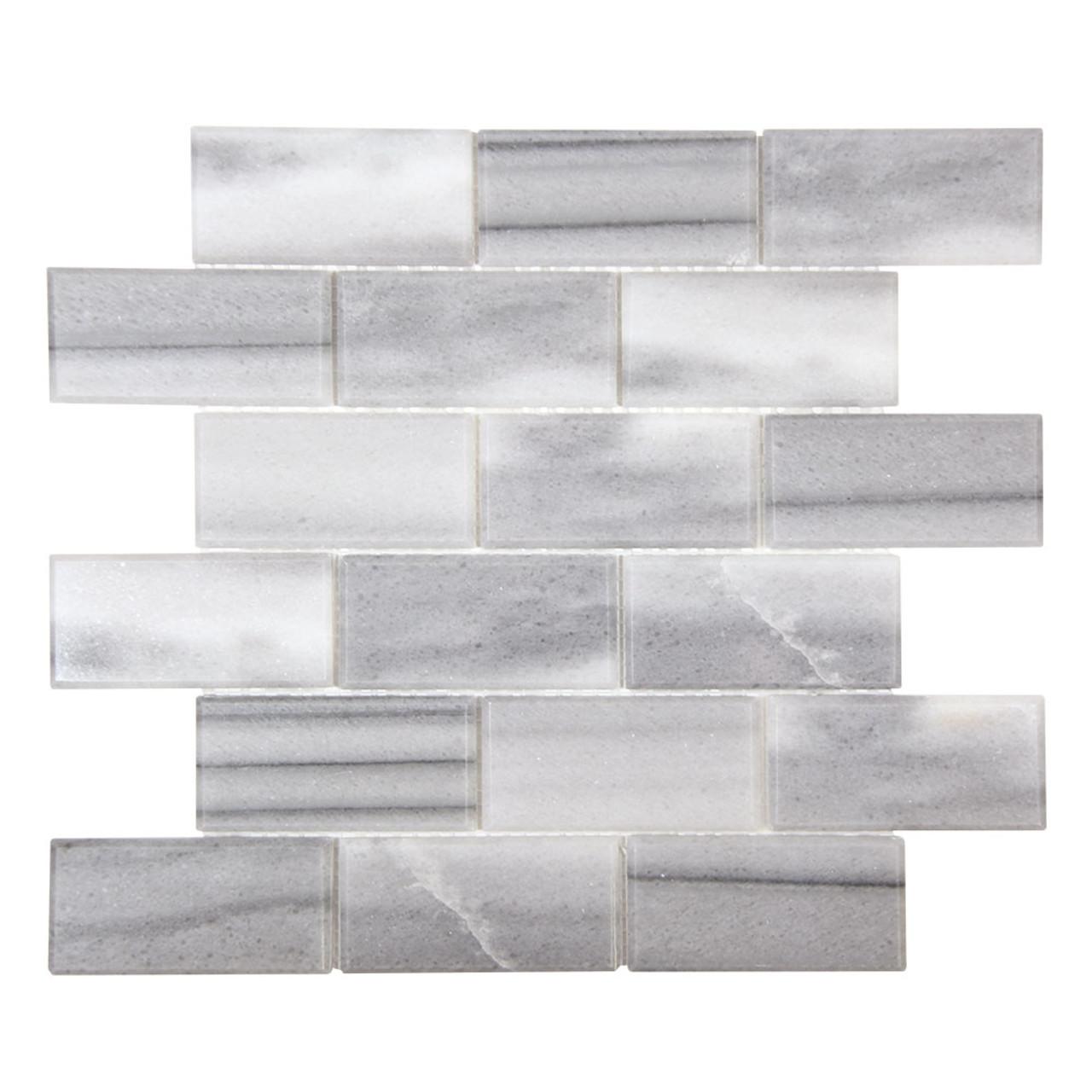 gulfstream marmara 2x4 beveled subway stone tile
