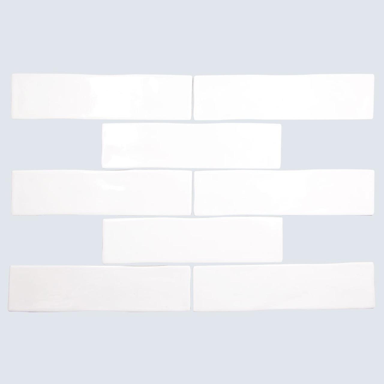 cape cod white shiny 3x12 porcelain subway tile box of 6 15 sq ft